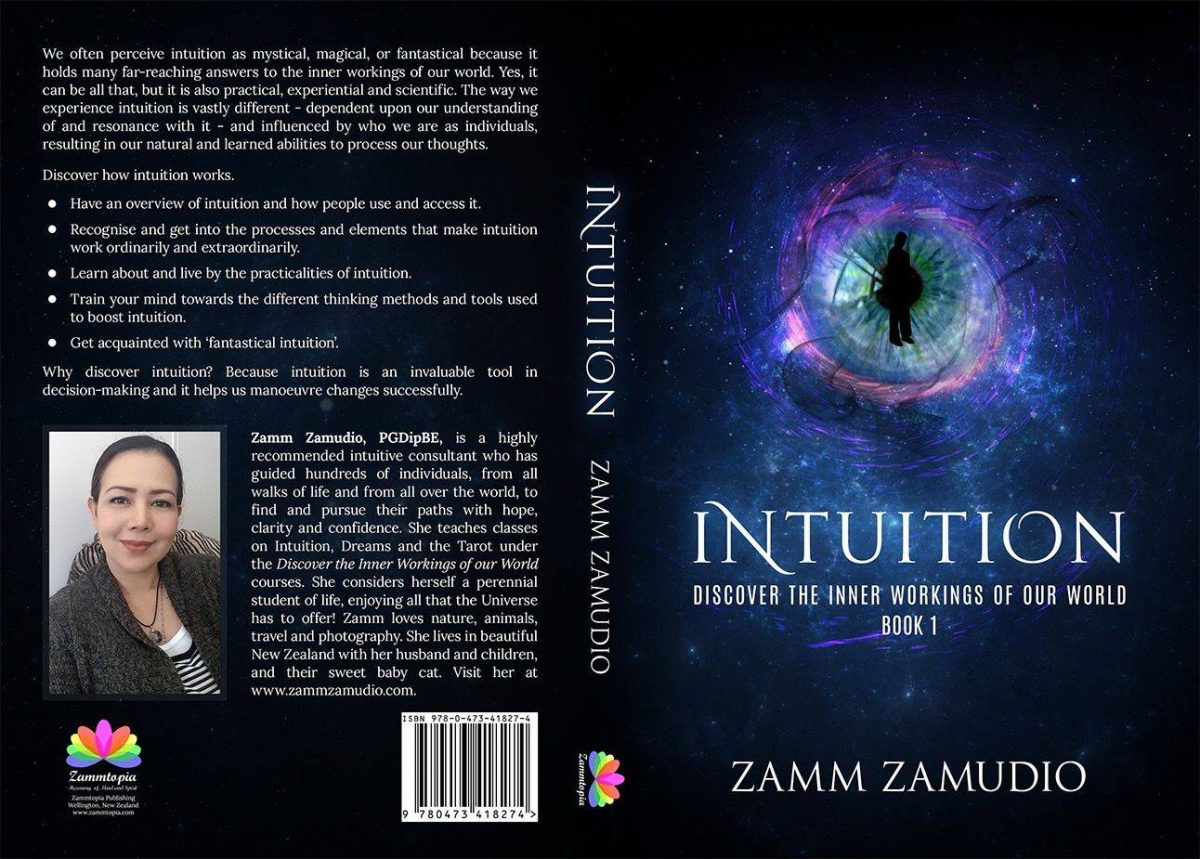 Zamm's debut book 'Intuition' recognised