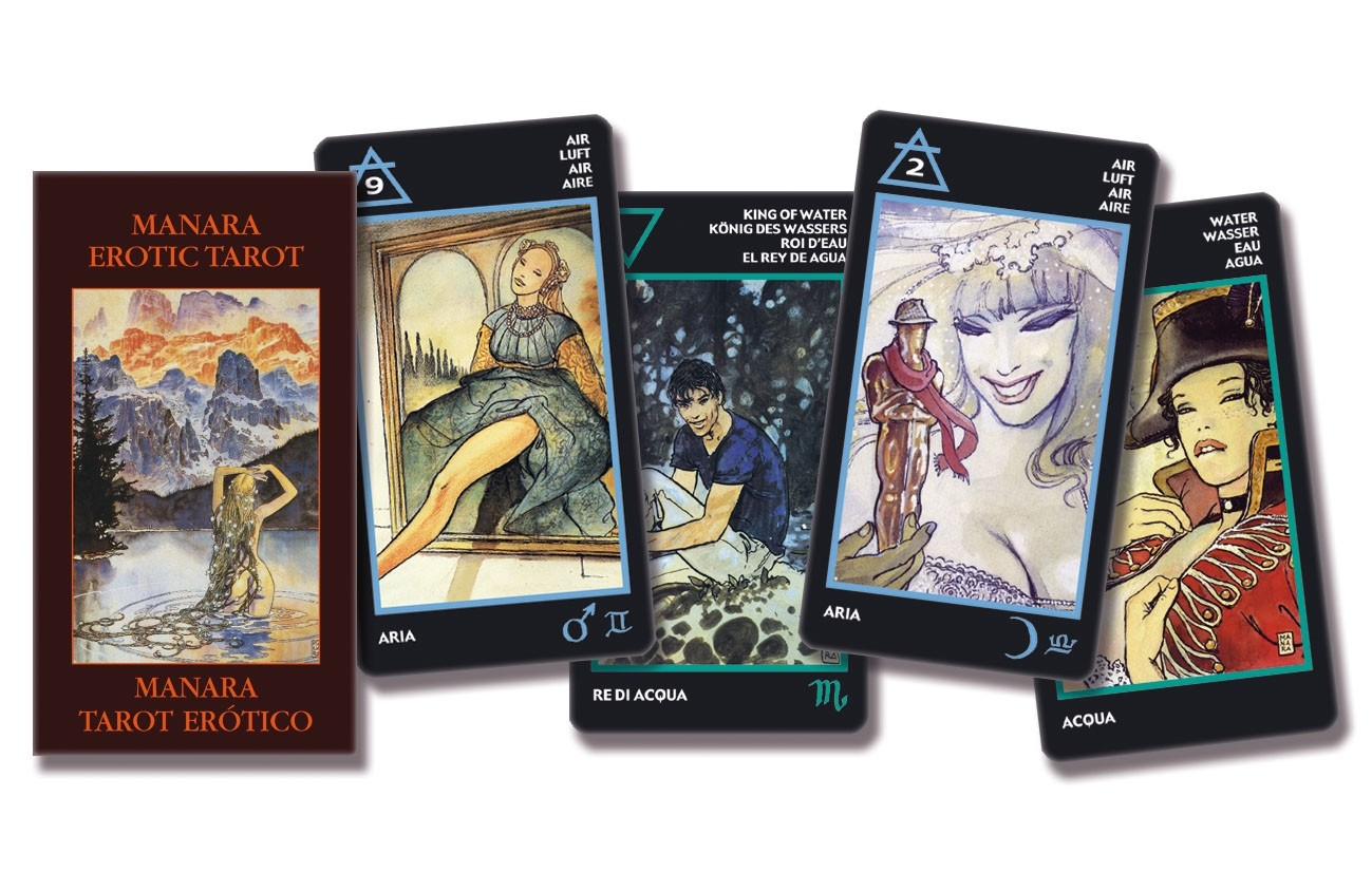 The Manara Erotic Tarot