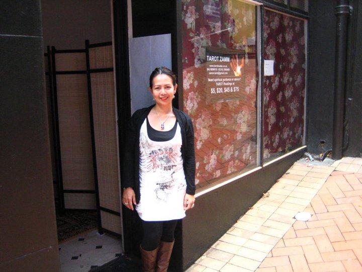 Tarot Zamm's first shop