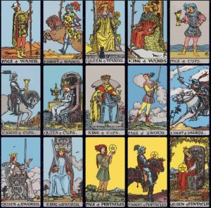 Court Cards - Rider Waite Smith Tarot