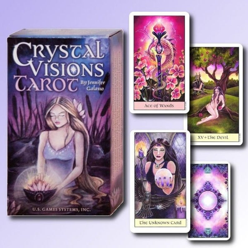 Crystal Visions Tarot - Tarot Zamm