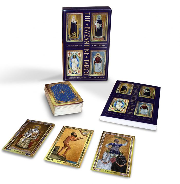 The Byzantine Tarot - featured by Tarot Zamm