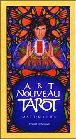 Art Nouveau Tarot Matt Myers - featured by Tarot Zamm