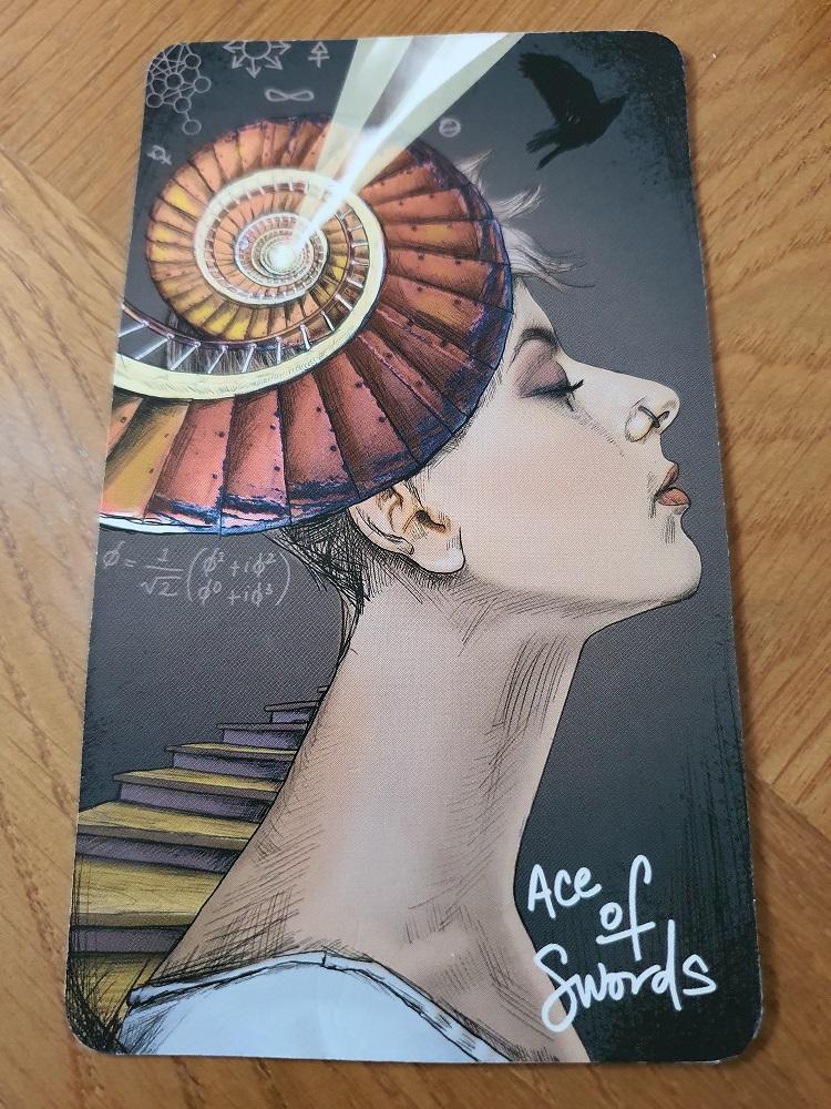Ace of Swords Chris-Anne Tarot Zamm feature